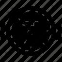 odometer, pressure gauge, pressure meter, speedometer icon
