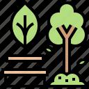 garden, park, public, relax icon
