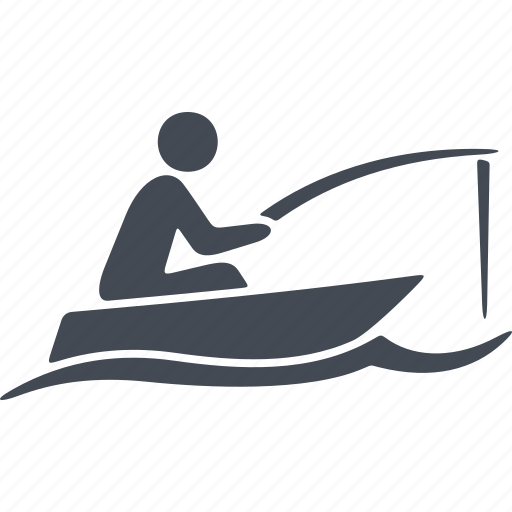 fishing, speed, swimmer, water polo, water sport, wetsuit, wind icon