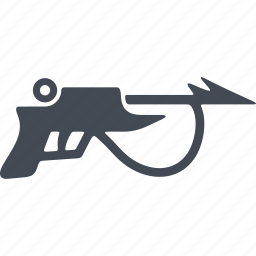 speargun, speed, swimmer, water polo, water sport, wetsuit, wind icon