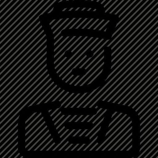 avatar, marine, sailor, ship icon