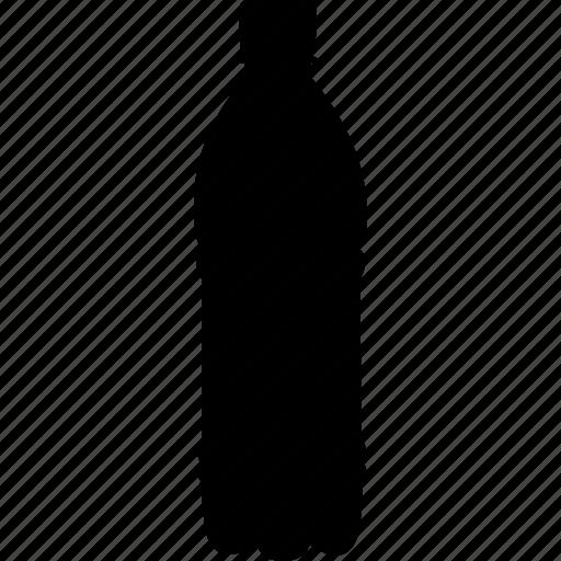 bottled, liter, water icon
