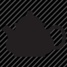 tea, teapot, water icon