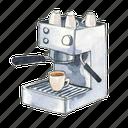machine, coffee, espresso