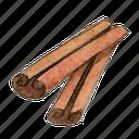 cinnamon, spice icon