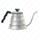 coffee, kettle, drip