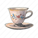 teacup, tea, mug icon
