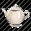 ceramic, tea, beverage, teapot, drink icon