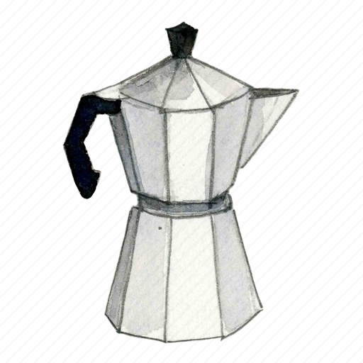 coffee, espresso, machine, maker icon
