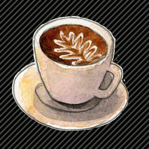 coffee, espresso, latte icon