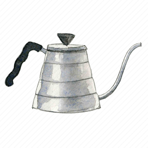 coffee, drip, kettle icon