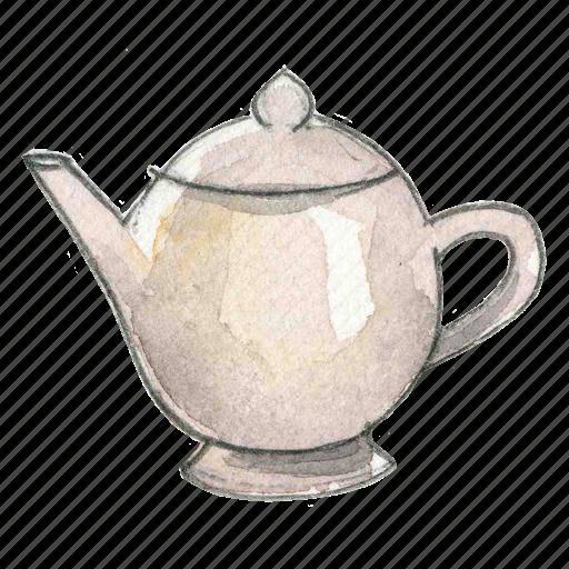 beverage, ceramic, drink, tea, teapot icon
