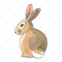 spring, easter, bunny, rabbit icon