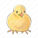 bird, chick, chicken, easter, sitting, spring icon