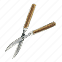 clippers, garden, gardening, scissors, shears, tool icon
