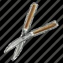 gardening, garden, tool, clippers, shears, scissors icon