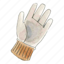 garden, gardening, glove, work icon