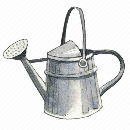Marvelous Can, Garden, Gardening, Pail, Spring, Summer, Water, Watering Icon