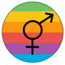 flag, gender, lgbt, pride, pride flag, rainbow, transgender icon