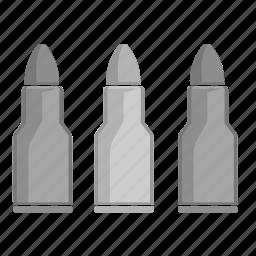 bullits, chestnuts, gun, terrorist, weapon icon