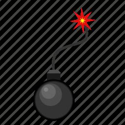 bomb, shoot, terrorism, terrorist, weapon icon