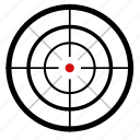 dot, point, snipper, target, terrorist, weapon icon
