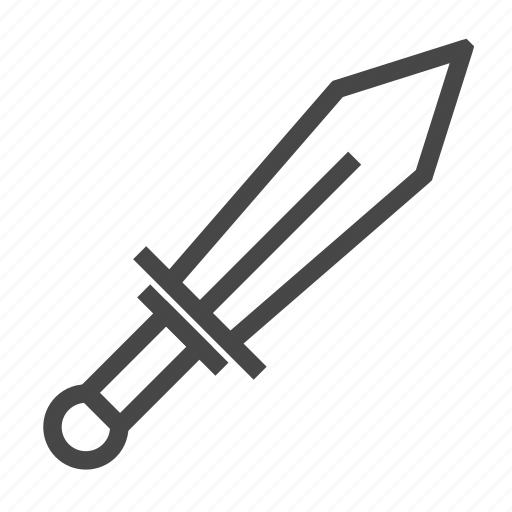 Sword, weapon icon - Download on Iconfinder on Iconfinder