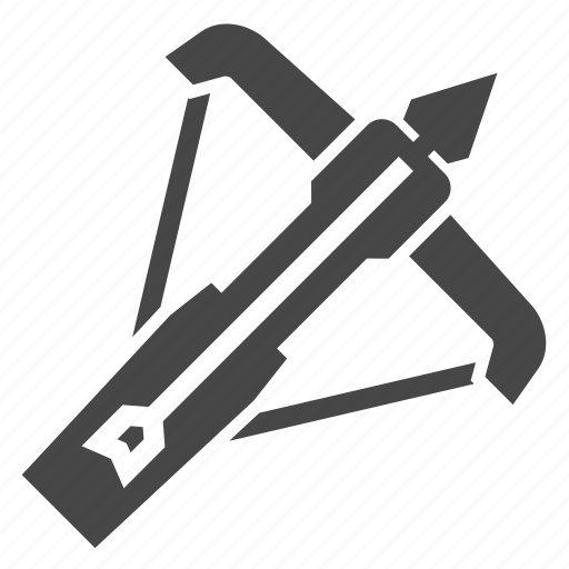 archery, crossbow, medieval, shooting, weapon icon