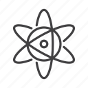 atom, molecule, neutron, nucleus icon