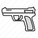 army, gun, military, police, war, weapon icon