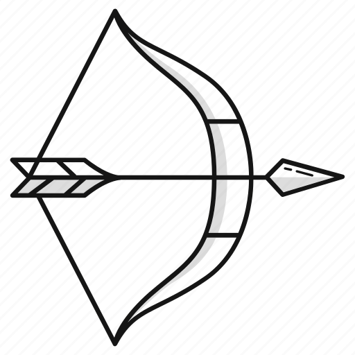 arrow, bow, survival, war, weapon icon