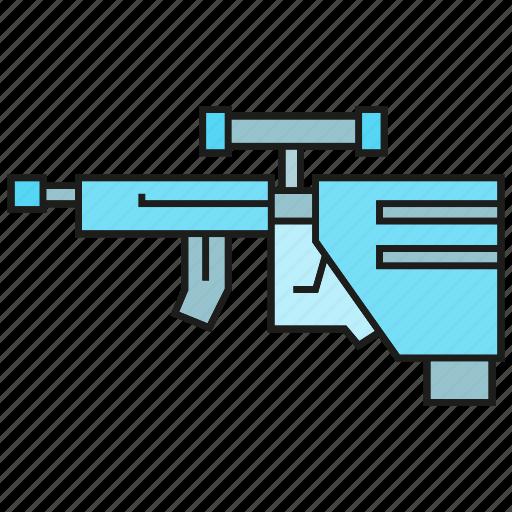 ammunition, armor, arms, gun, rifle, sniper, weapon icon