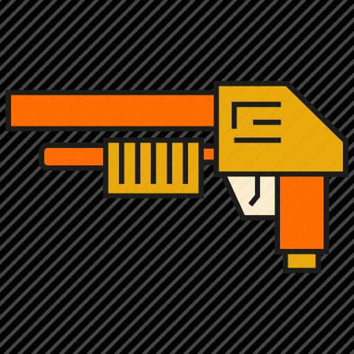ammunition, armor, arms, gun, shotgun, weapon icon