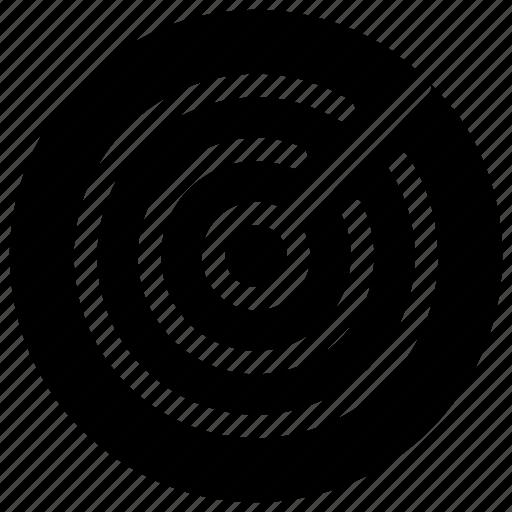 radar, track, tracking icon