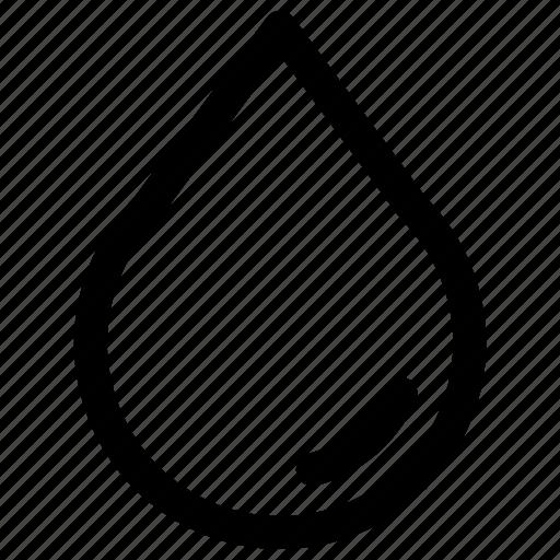 rain, water, water drop, weather icon