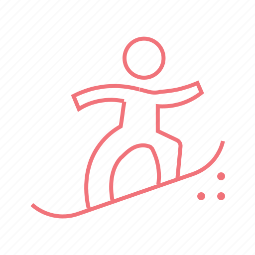 ice skating, skateboarding, skater, skating, snow skating, sport, winter icon
