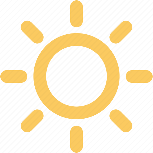 shining sun, summer, sun, sun beams, sunlight, sunny day, sunrays, sunshine icon