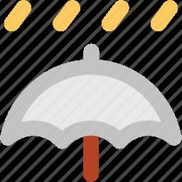 canopy, parasol, protection, rain, raining, umbrella icon