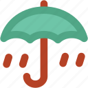 canopy, parasol, protection, rain, raining, umbrella icon