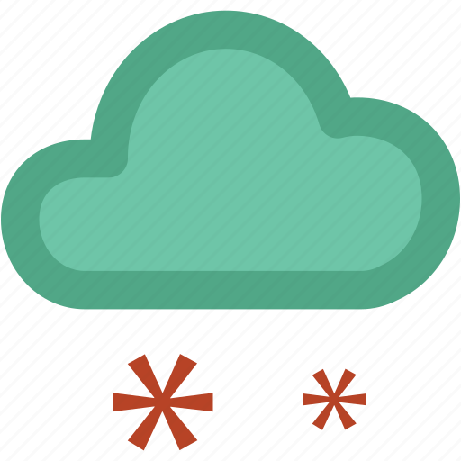 atmosphere, cloud, cloud snow, raindrops, raining, rainy, snow, snow falling, weather icon