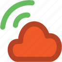 atmosphere, cloud, cloud waves, waves, weather icon