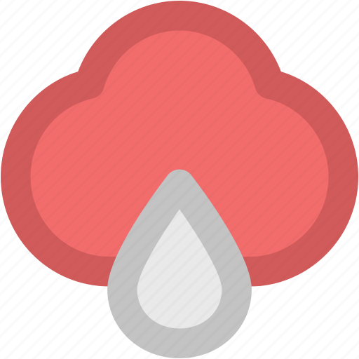 atmosphere, cloud, rain, rainfall, raining, weather icon