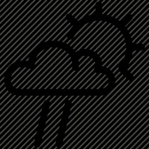 fast, forecast, prediction, rain, small, wind icon
