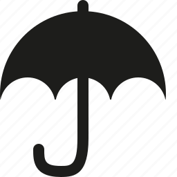 umbrella, weather icon
