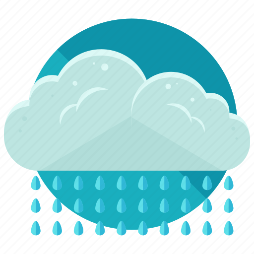 cloud, rain, storm, waterdrops, weather icon