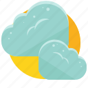 cloud, clouds, cloudy, cold, weather icon
