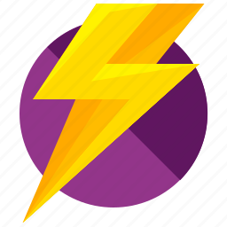 electric, electricity, light, lightening, storm, weather icon