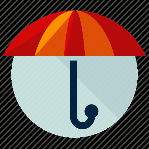 accessories, protect, rain, umbrella, weather icon