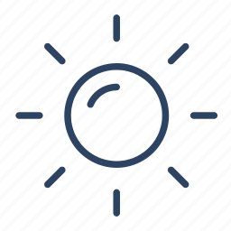 clear, climate, day, forecast, sun, sunny, weather icon