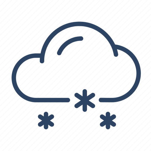 Climate, cloud, drizzle, forecast, freezing, snow, weather icon - Download on Iconfinder
